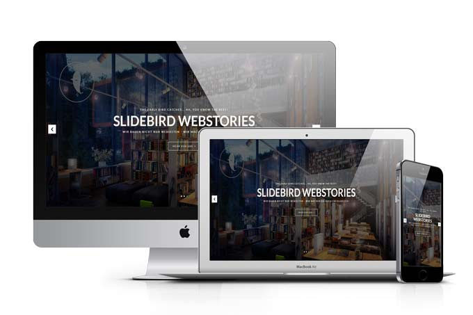 Responsive Webdesign Mock Up Slidebird Online Marketing & Webdesign