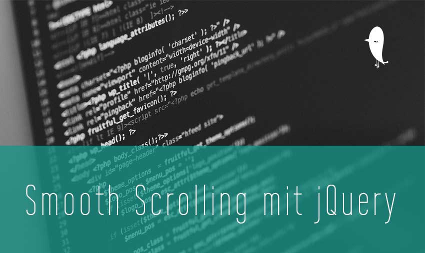 Smooth Scolling mit jquery Wordpress