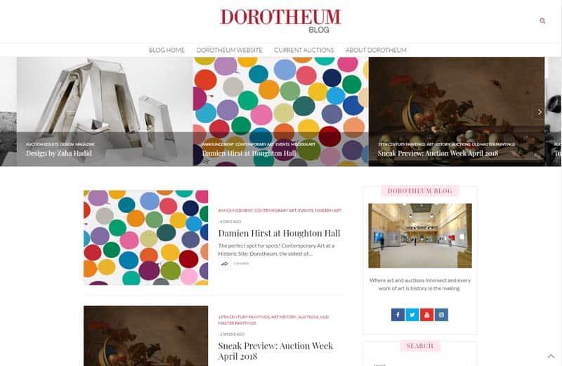 webdesign portfolio dorotheum online marketing agentur wien