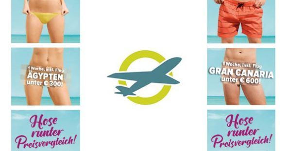 Bild von Bannerwerbung Restplatzbörse für Aktion Hose runter Preisvergleich