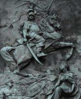 Reliefbild mit Ritter auf Pferd - dorotheum als Kunde von Slidebird