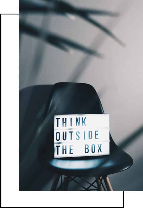 webdesign think outside the box