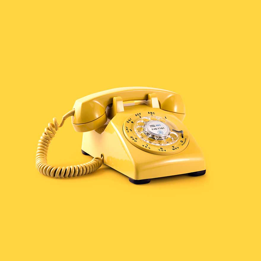 webdesign portfolio telefon