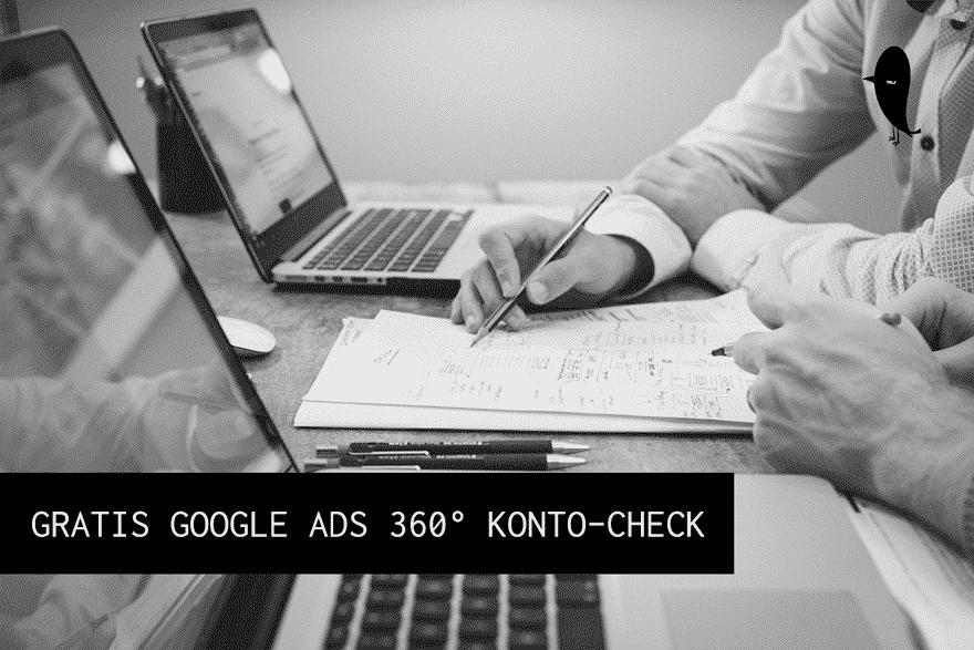 google ads konto check