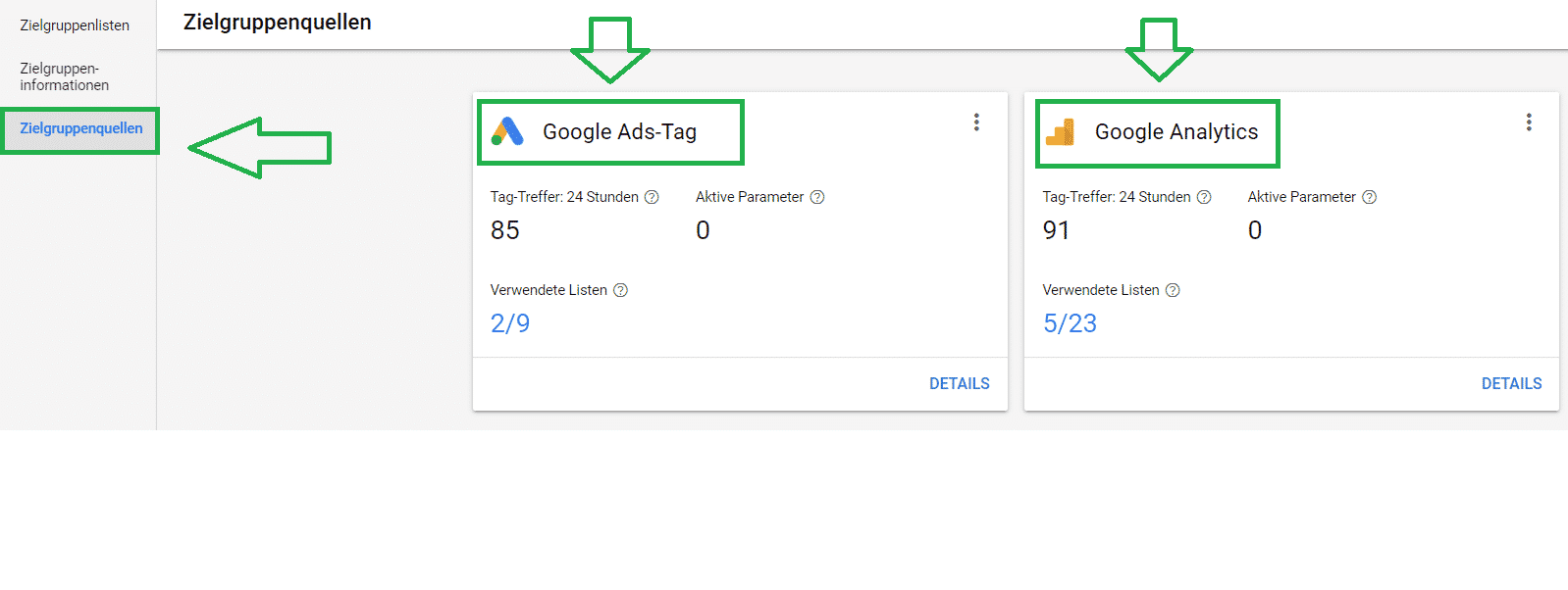 Remarketing Tag Google Ads